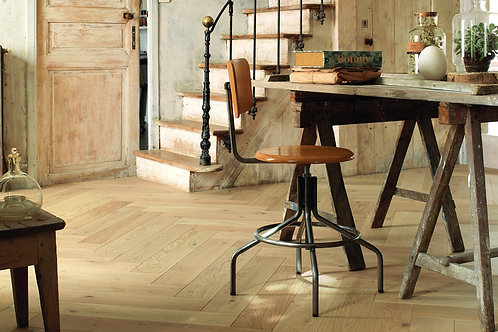 FRENCH OAK AUTHENTIC BOIS FLOTTÉ HERRINGBONE 139