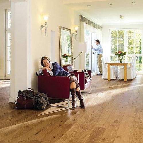 HARO Plank 1-Strip 2V Oak Markant brushed