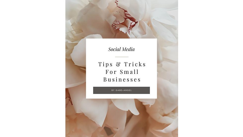 Social Media Tips & tricks For Small Business