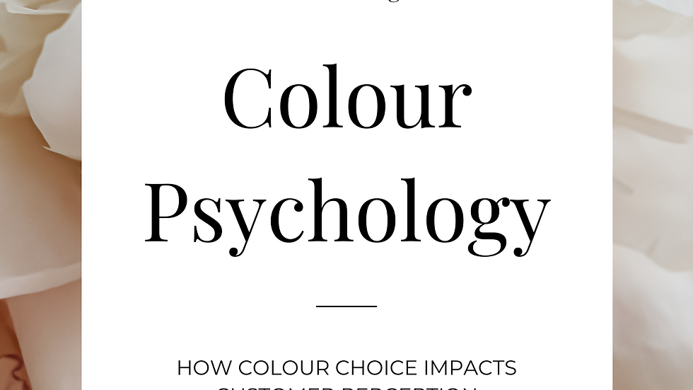 Colour Psychology E-book