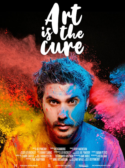 Art Is The Cure Movie Poster A1