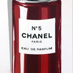 40 x 20 Zoll Chanel Spraydose Rot
