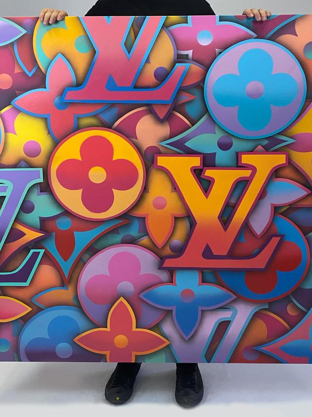 "48 ""X 48"" LOUIS VUITTON MIAMI VICE EDITION"