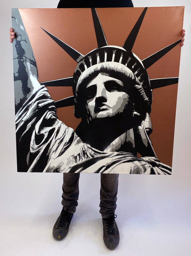 "36 ""X 36"" LIBERTY COPPER"