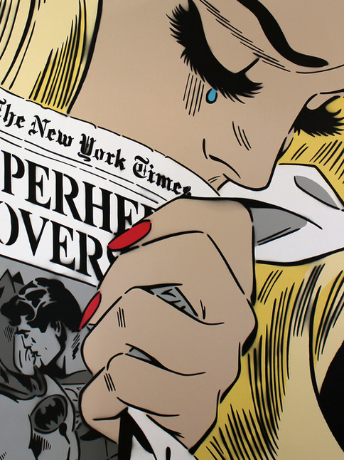 "36 ""X 36"" NEW YORK TIMES BLONDE"