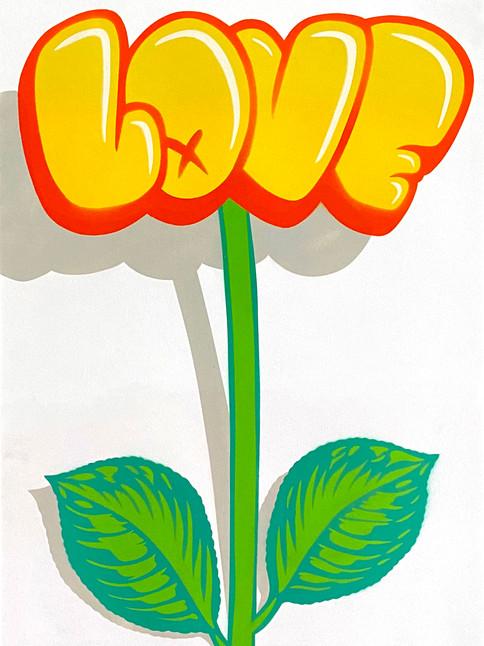 A2 LOVE FLOWER GRAFFITI