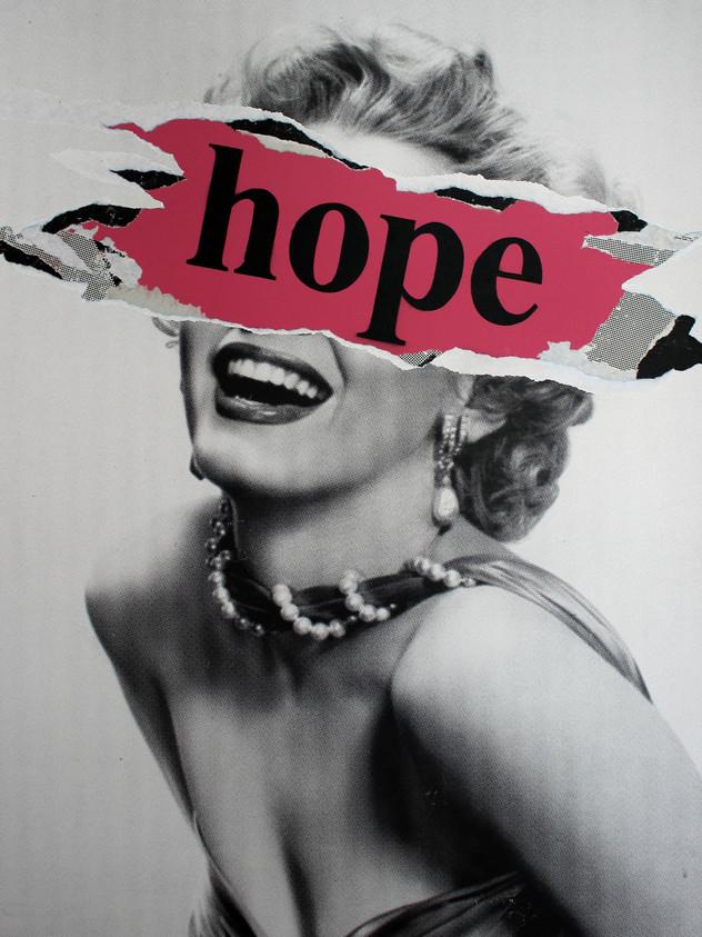 30英寸X 24英寸MARILYN HOPE