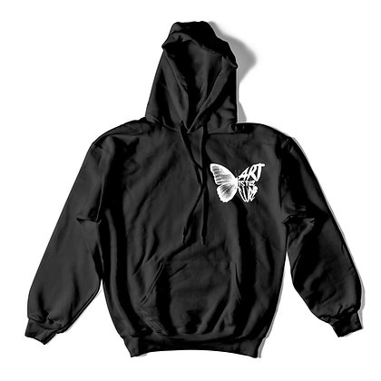 AITC Butterfly Black Hoody