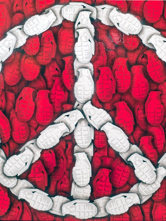 Frieden erreichen 100 x 100 cm red.jpg
