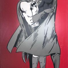 The Capes Monochrome / Red arasında 48 x 30 inch