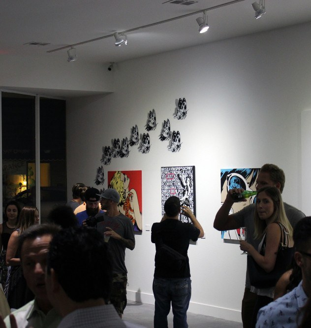 GALLERY OPENING NIGHT