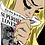 Thumbnail: SERIGRAFÍA DE SEDA RUBIA DE NEW YORK TIMES 84cm x 59cm