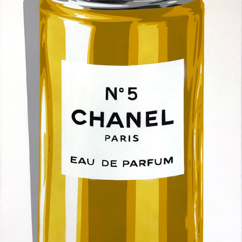 40 x 20 tommers Chanel Spray Can Classic No 5