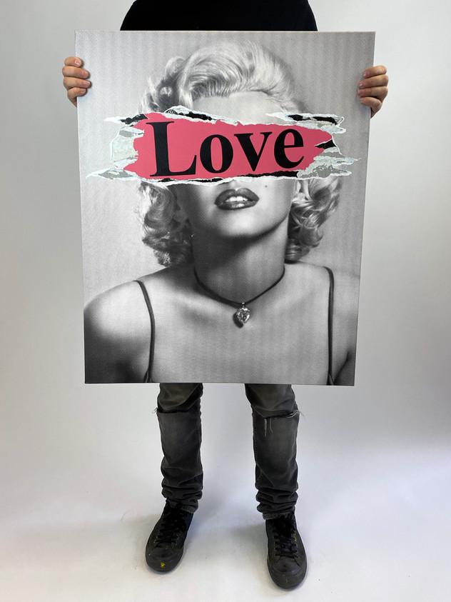 """30"""" X 24"""" MARILYN LOVE"""