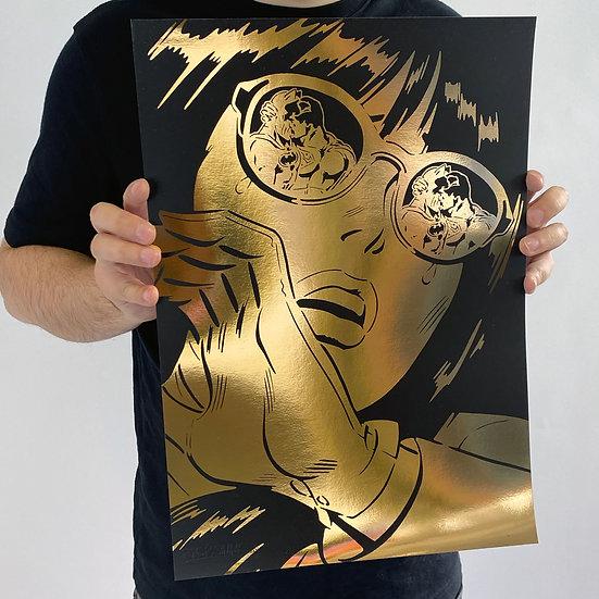 IMPRESIÓN REFLECTIONS GOLD 42 x 29,7CM