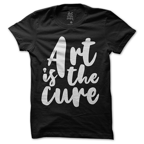 Art Is The Cure Black T-Shirt