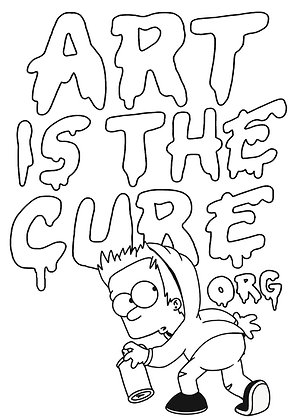 Rich Simmons - Art Is The Cure Graffiti