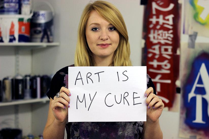 lucy art is my cure.jpg