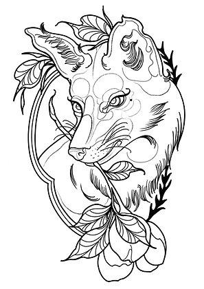 Little Hell - Tattoo Fox