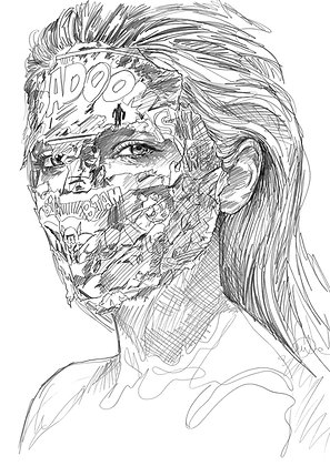 Sandra Chevrier - Black & White