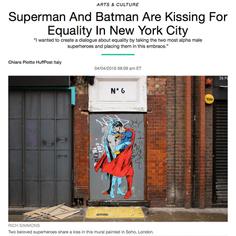 سوبرمان وباتمان يقبلان المساواة