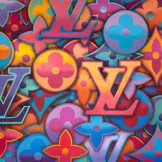 48 x 48 Zoll Louis Vuitton