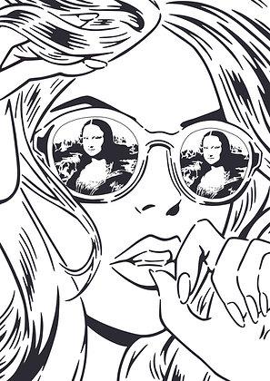 Rich Simmons - Mona Lisa Reflections