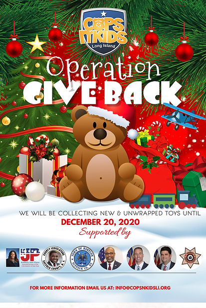 CNKLI Toy Drive 2020 Poster Side 1 10.23