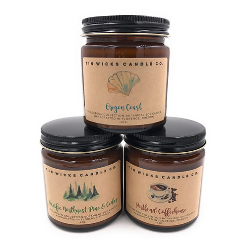 The Oregon Collection Candle Gift Set