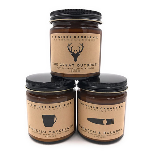 The Men's Collection Candle Gift Set