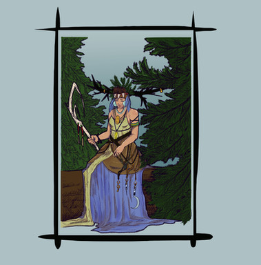 Pine Forest Witch