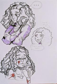 Purple Actin Sus