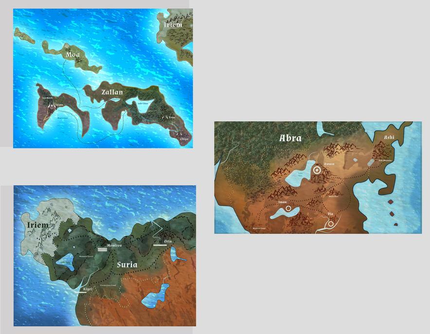 Regions of Ydora