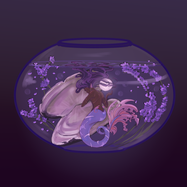 Pearl Gray Tea Mermaid