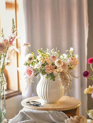 Flores en movimiento