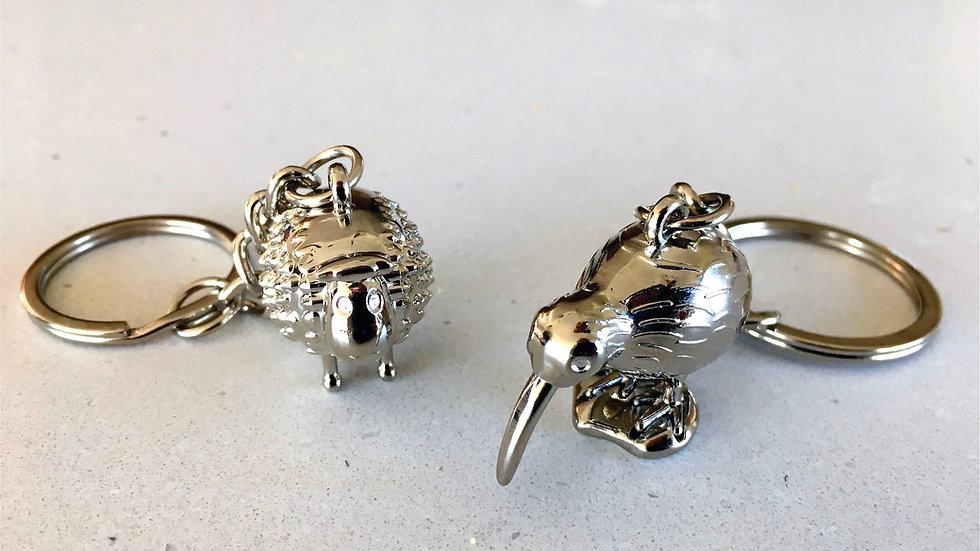 W/S KIWI & SHEEP Key Rings