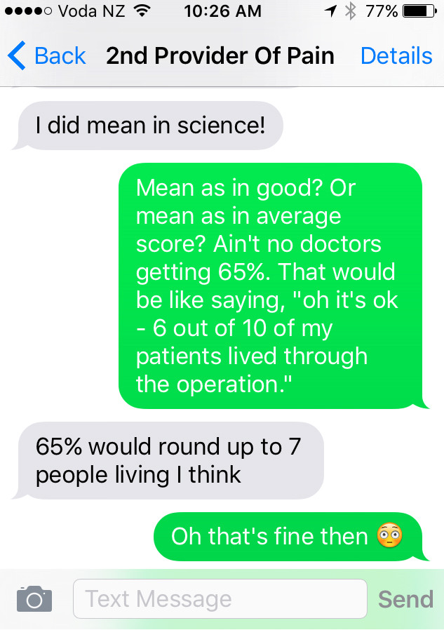 An Email From A Satisfied Customer - My Son Wants To Be A Doctor