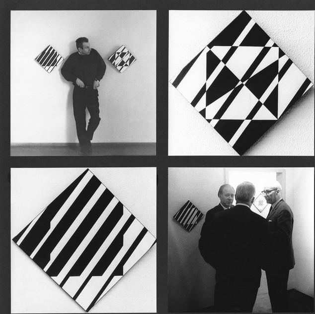 Kinetische Kunst, Hans-Niermann-Haus, Rheine, 1967 Bild 5