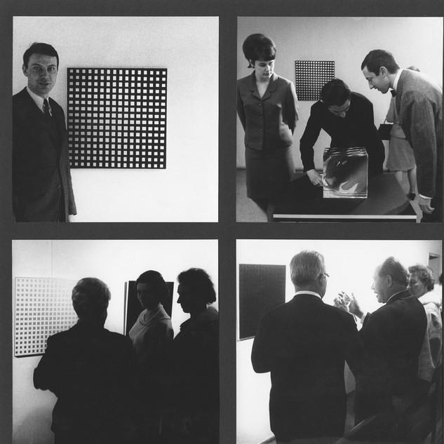 Kinetische Kunst, Hans-Niermann-Haus, Rheine, 1967 Bild 1