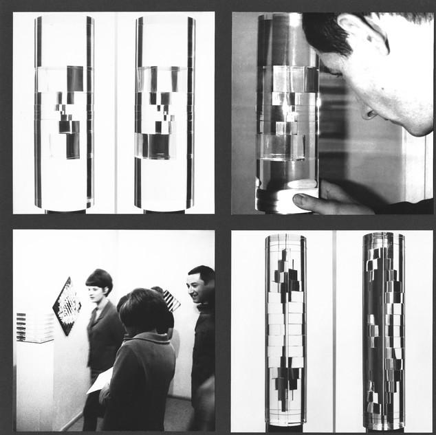 Kinetische Kunst, Hans-Niermann-Haus, Rheine, 1967 Bild 2