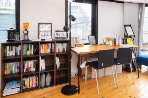 代表の書棚