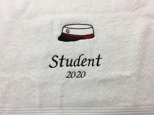 Håndklæde m. studenterhue