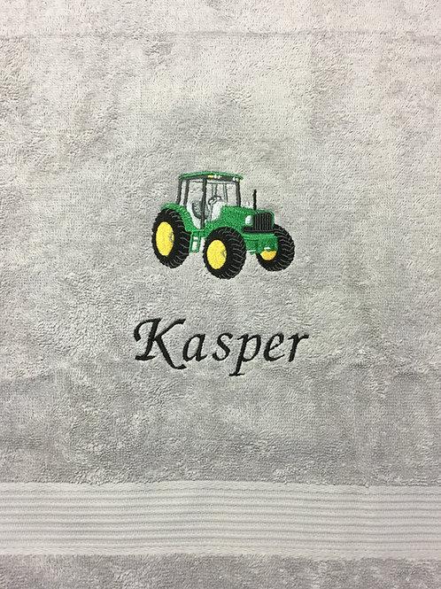 Håndklæde m. traktor