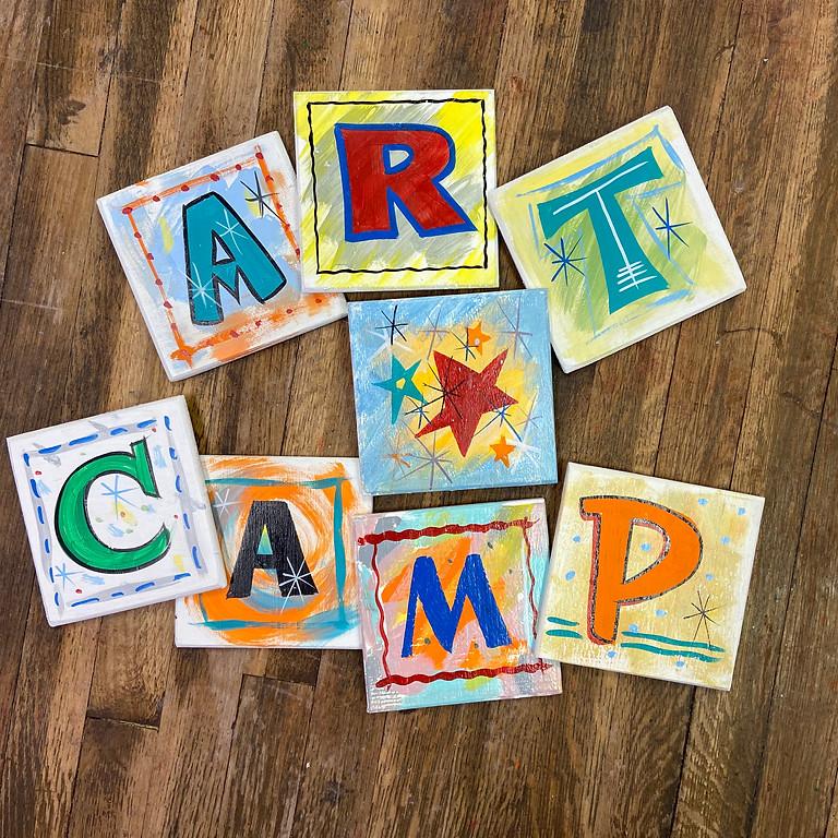 Pre-K Art Camp -PM