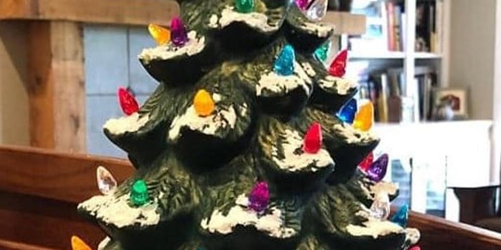10/30 Ceramic Christmas Tree