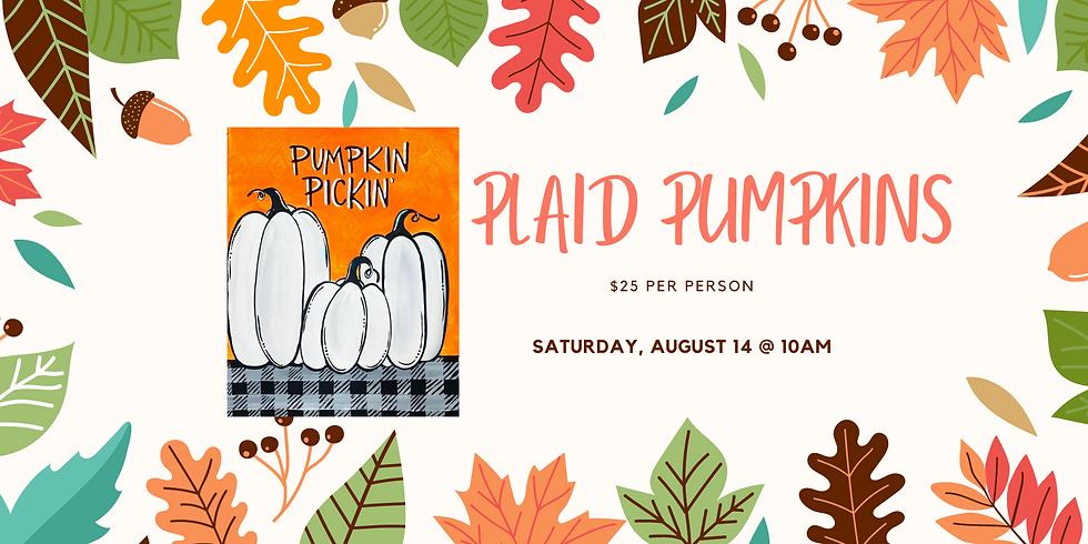 Plaid Pumpkins