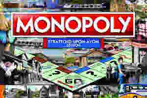 Stratford Monopoly Board