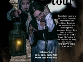 Ghost Tours a spooky hit!