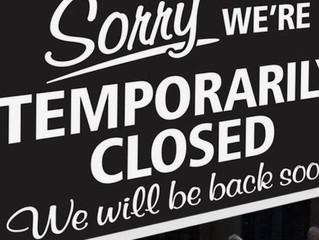 Still here! Still closed!