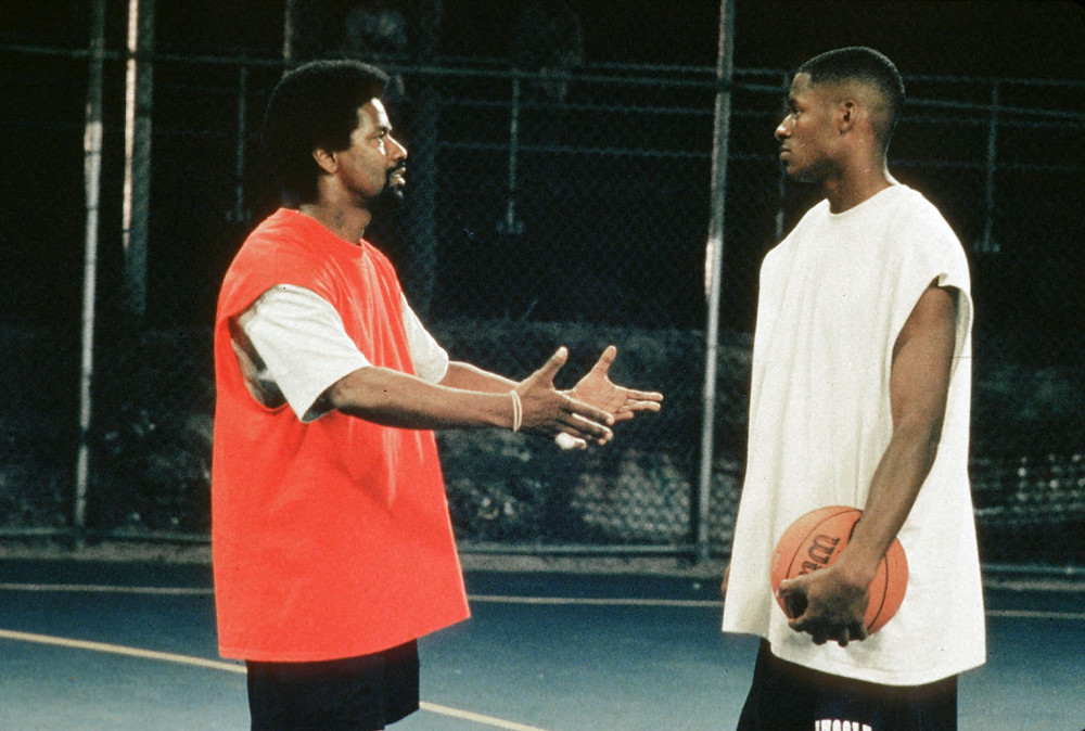 Denzel Washington and Ray Allen in He Got Game (1998)